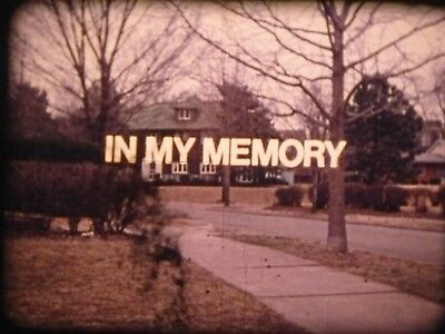 In My Memory (Inside/Out Series) 1973 16mm short film Documentary Exxon