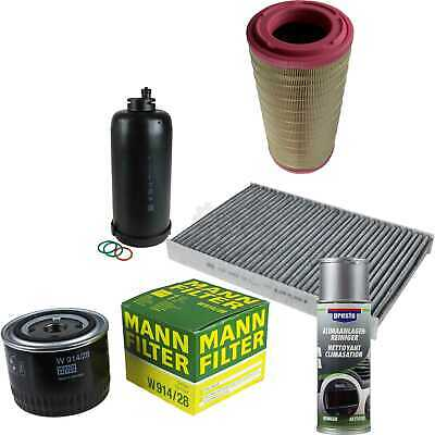 Mann-Filter Package + Preso Air Cleaner for Iveco Daily IV