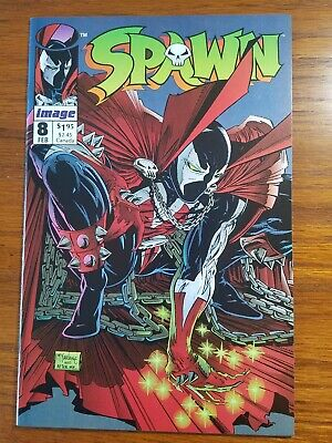 Spawn #8 First Appearance Vindicator. Alan Moore Mcfarlane. Frank Miller Poster