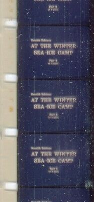At The Winter Sea Ice Camp Part 3  1969 16mm short film