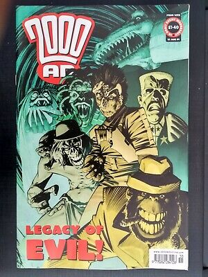 2000AD - Legacy Of Evil  Prog 1255  August  2001