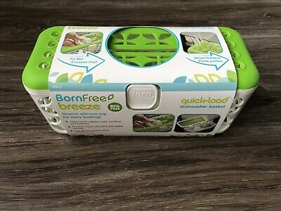 Born Free Breeze Quick-Load Dishwasher Basket for Baby Bottles Toys Utensils