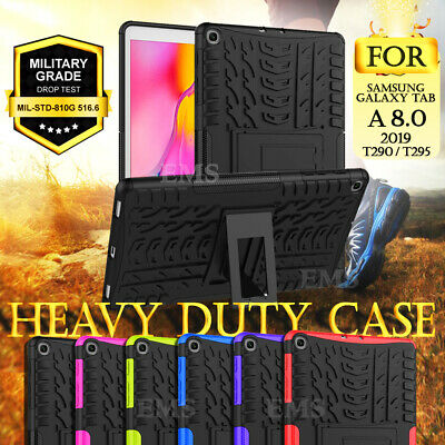 For Samsung Galaxy Tab A 8.0 2019 SM-T290 T295 Shockproof Heavy Duty Case Cover