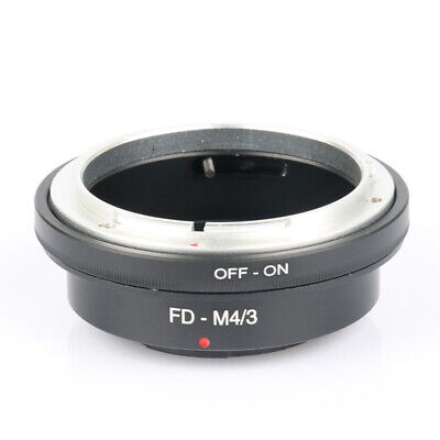 FD-M4/3 Lens Adapter for Canon FD Mount to Micro Four Thirds M4/3 MFT Camera xf