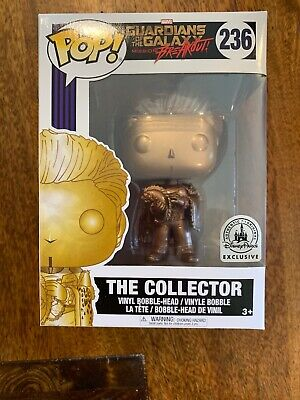 Funko Pop! Marvel Guardians of The Galaxy The Collector Disney Parks Exclusive