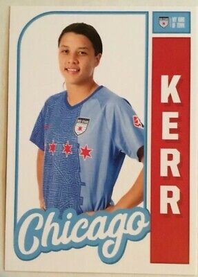 2019 Chicago Red Stars Regional Samantha Sam Kerr Trading Card
