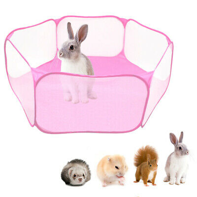 Cozy Pet Playpen Dog Rabbit Puppy Play Pen Cage Folding Run Fence Guinea-Pigs