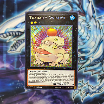 Toadally Awesome - MP17-EN150 - M/NM - Secret Rare - 1st Edition - Yugioh