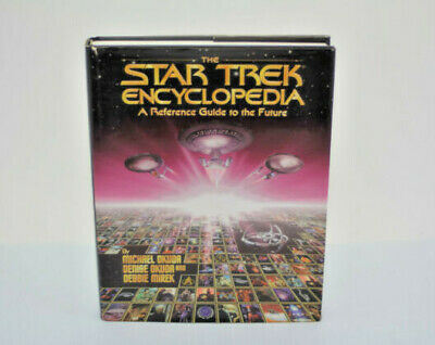 Startrek Encyclopedia A Reference Guide To The Future Pre-Owned