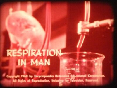 Respiration In Man 16mm short film Colour 1969