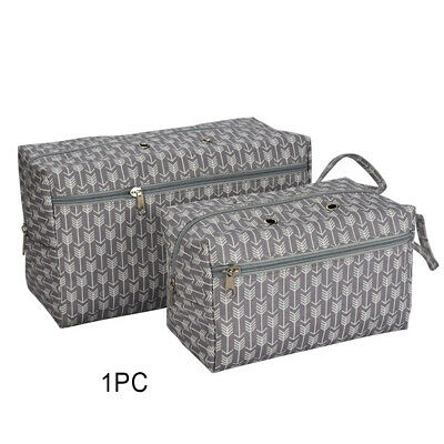 Storage Bag Crocheting Tool Portable Tote Home Cotton Zipper Sewing Yarn Holder