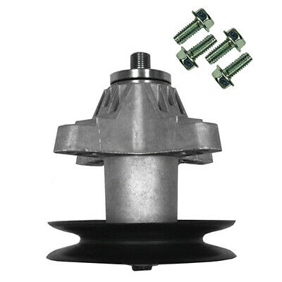 2 SPINDLE ASSEMBLY w/Pulley for Troy Bilt TB2450 Horse