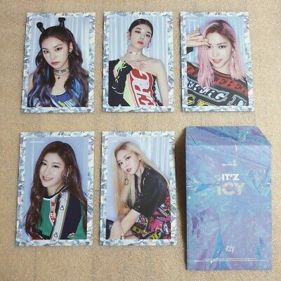 ITZY IT'Z ICY Official Preorder Postcard Ver.1 Select Option