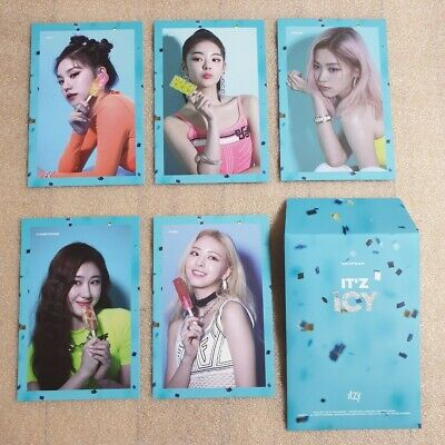 ITZY IT'z ICY Official Preorder Postcard Ver.2 Select Option