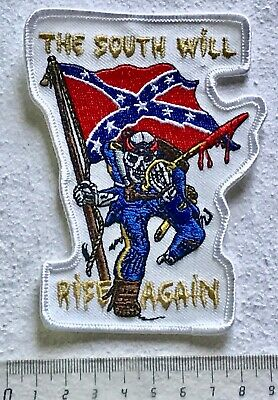 .Aufnäher Patch -> THE SOUTH WILL RISE AGAIN