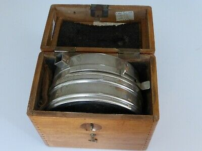 Vintage Pigeon Racing Clock Toulet Imperator in Fitted Oak Case
