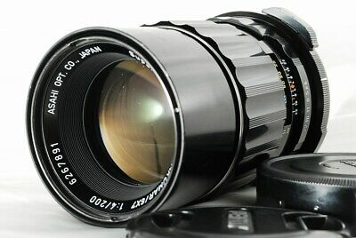 [Exc+] Pentax Asahi Lens SMC Super Multi Coated TAKUMAR 6x7 200mm F4
