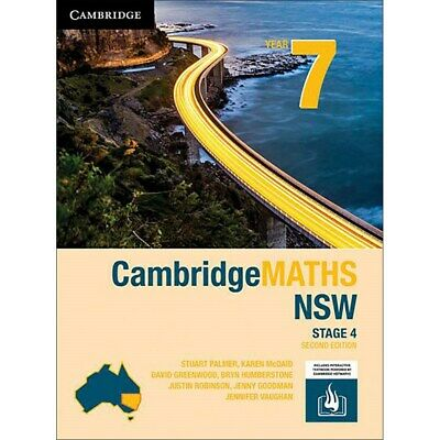 9781108466219 CambridgeMATHS NSW Year 7, Stage 4, 2nd Edition (PDF Only)