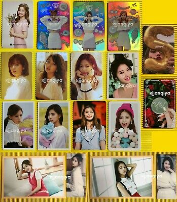 TWICE Lane 1 Lane 2 Merry and Happy Season's Greetings Official Photocard