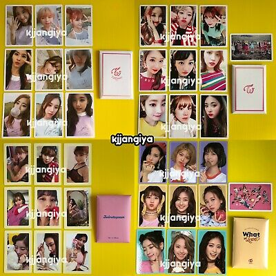 TWICE LANE 1 Signal Twicetagram What is Love Preorder Benefit Photocard