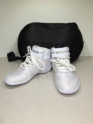 a99e856f90011 NFINITY TITAN WHITE High Top Cheerleading Cheer Shoe Youth 10 Y10 ...