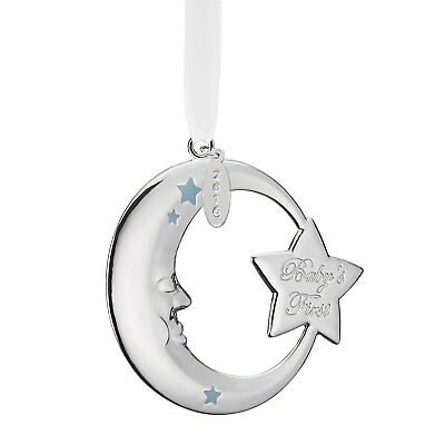 Reed & Barton 2016 Blue Moon Ornament Baby's First Christmas New in Box