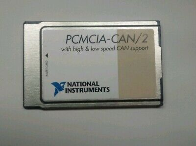 NI PCMCIA-FBUS/2, National Instruments Interface Card