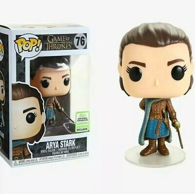 ECCC 2019 Funko Pop! Arya Stark #76 Game of Thrones minor Box Damage