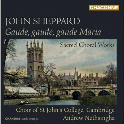 Choir of St Johns College Cambridge - Sheppard: Sacred Choral Works [CD]
