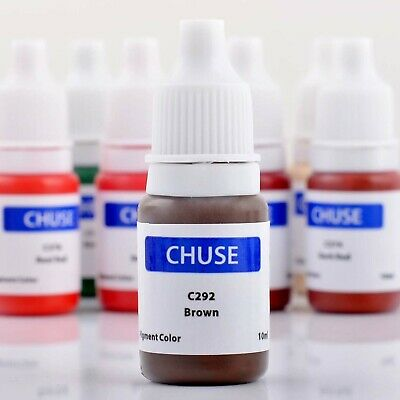 Chuse Permanent Makeup Pigment Microblading Ink PMU Organic Cosmetic 10ml/bottle