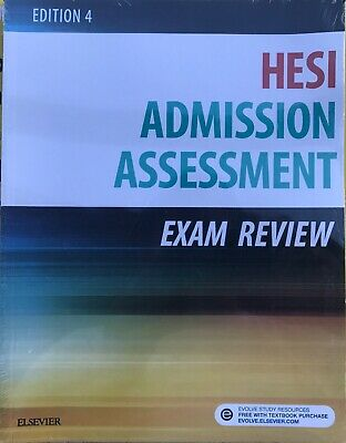 Admission Assessment Exam Review by Hesi (Paperback, 2016) FREE SHIPPING!!!