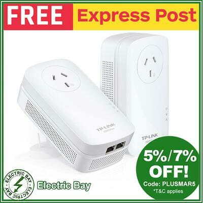 TP-Link TL-PA9020PKIT 2-Port Gigabit Passthrough Powerline Starter kit 2000Mbps
