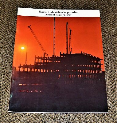 VTG 1967 Kaiser Industries Corporation Annual Report Jeep