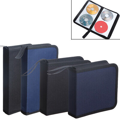 Zipper Protective Storage Case Portable Car Album Holder Oxford Cloth CD Bag