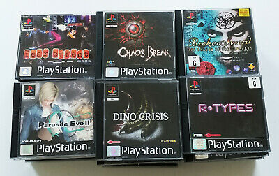(Tested) Sony PlayStation 1 PS1 Games, Bulk Lot, Please Choose
