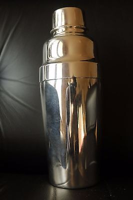 CHRISTOFLE Antique Shaker cocktail silver plated France SILVERPLATE