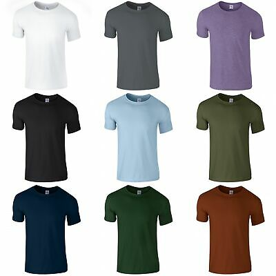 Gildan Mens Short Sleeve Soft-Style T-Shirt (BC484)