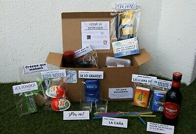 Kit emergencia despedidas soltero - Despedidas - Mystery box - Fun box - Party