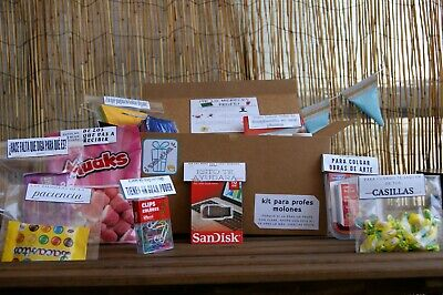 Kit emergencia profes molones - Regalo profesor - Mystery box - Teacher box