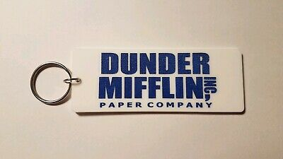 Dunder Mifflin the office inspired keychain key chain