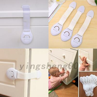 10x Child Baby Safety Lock Cupboard Cabinet Door Drawer Children Safety Lock AU