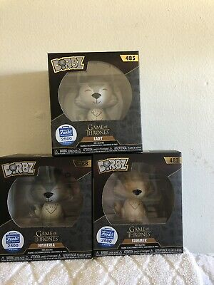Funko Dorbz Direwolves Game Of Thrones (Funko Shop Exclusive) Sold Out