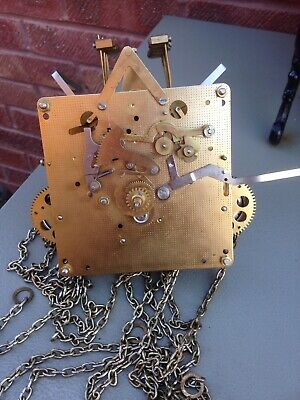 Franz Hermle Triple Chime Grandfather Clock Movement