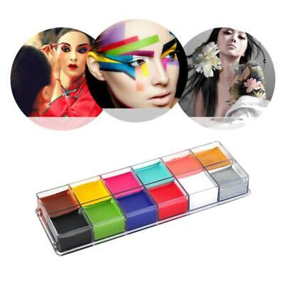 Face Paints Classic Colours Make Up Party Halloween Fancy Body Painting Cream