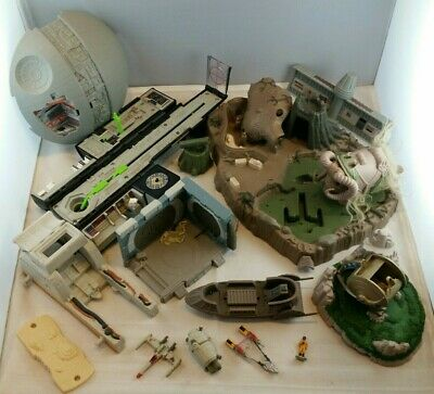 Star Wars Micro Machines Accessories Part Transforming Playset Head Galoob 90/'s