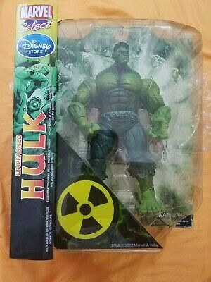 2012 Marvel Select Disney Store Exclusive Unleashed Hulk, Sealed, Free Shipping