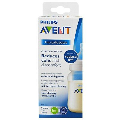 Phillips Avent Anti Colic Wide Neck Baby Bottle BPA Free