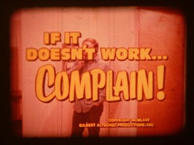 If It Doesn't Work... Complain 16mm short film 1975 Journal Films