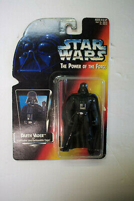 "NIP 3-3/4"" Figure **DARTH VADER Star Wars Power of the Force w/Lightsaber & Cape"