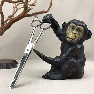 """Solingen Vintage Germany 8"""" Thinning Shears Hair Cutting Scissors Allied Mfg 570"""